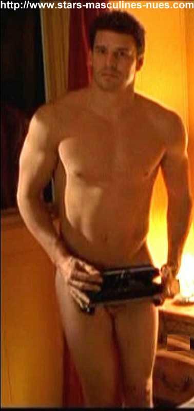 David Boreanaz Naked